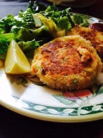 Salmon fish cakes recipe